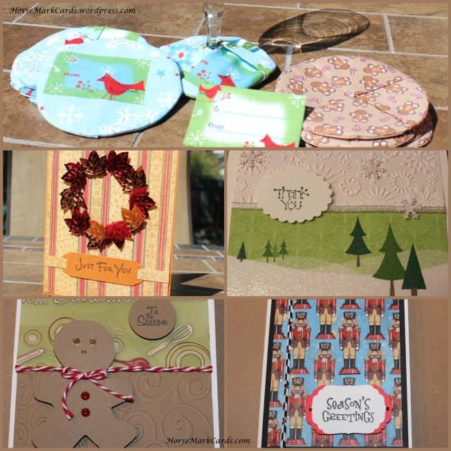 christmas cards, christmas coasters, christmas thank you cards